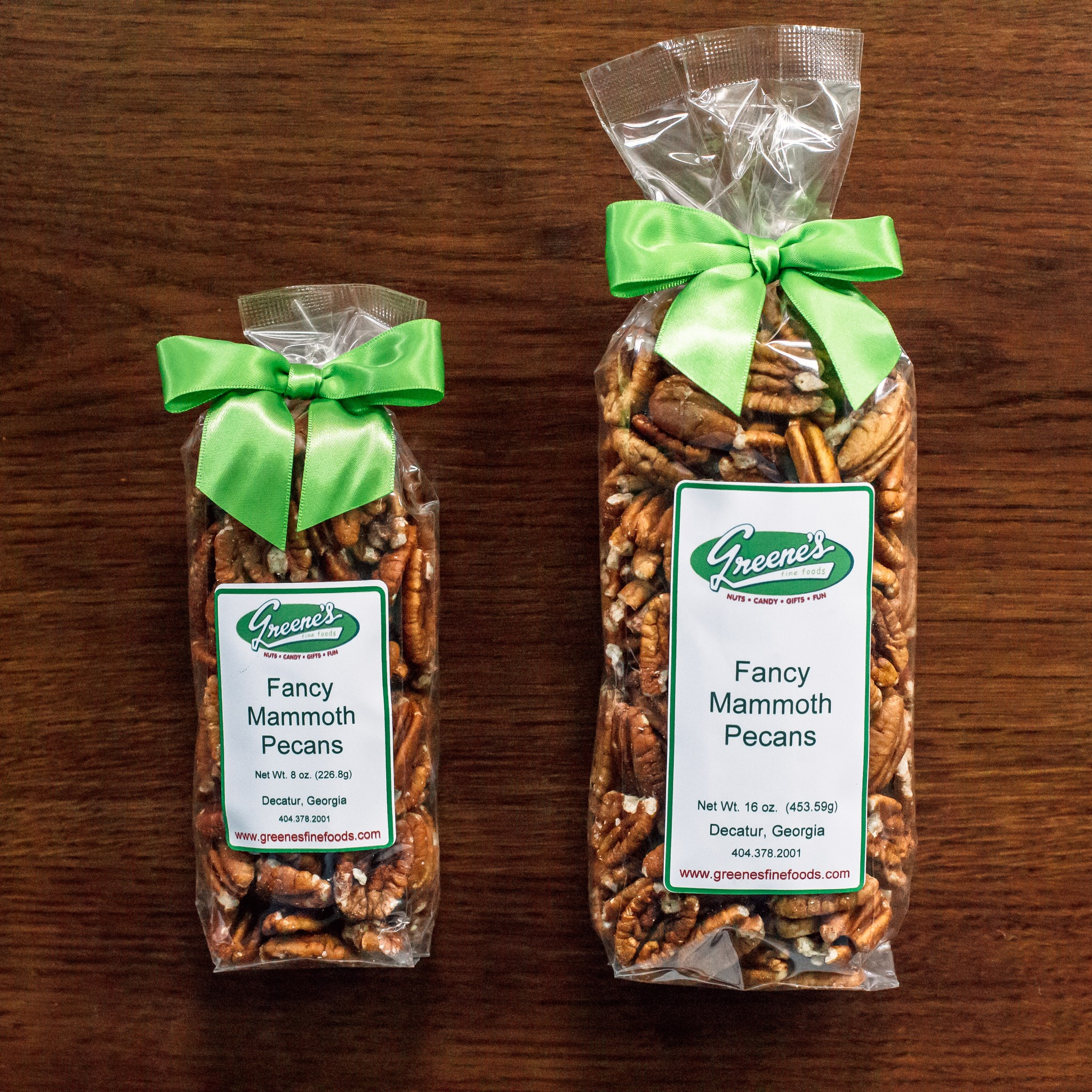 Fancy Mammoth Pecans Unsalted
