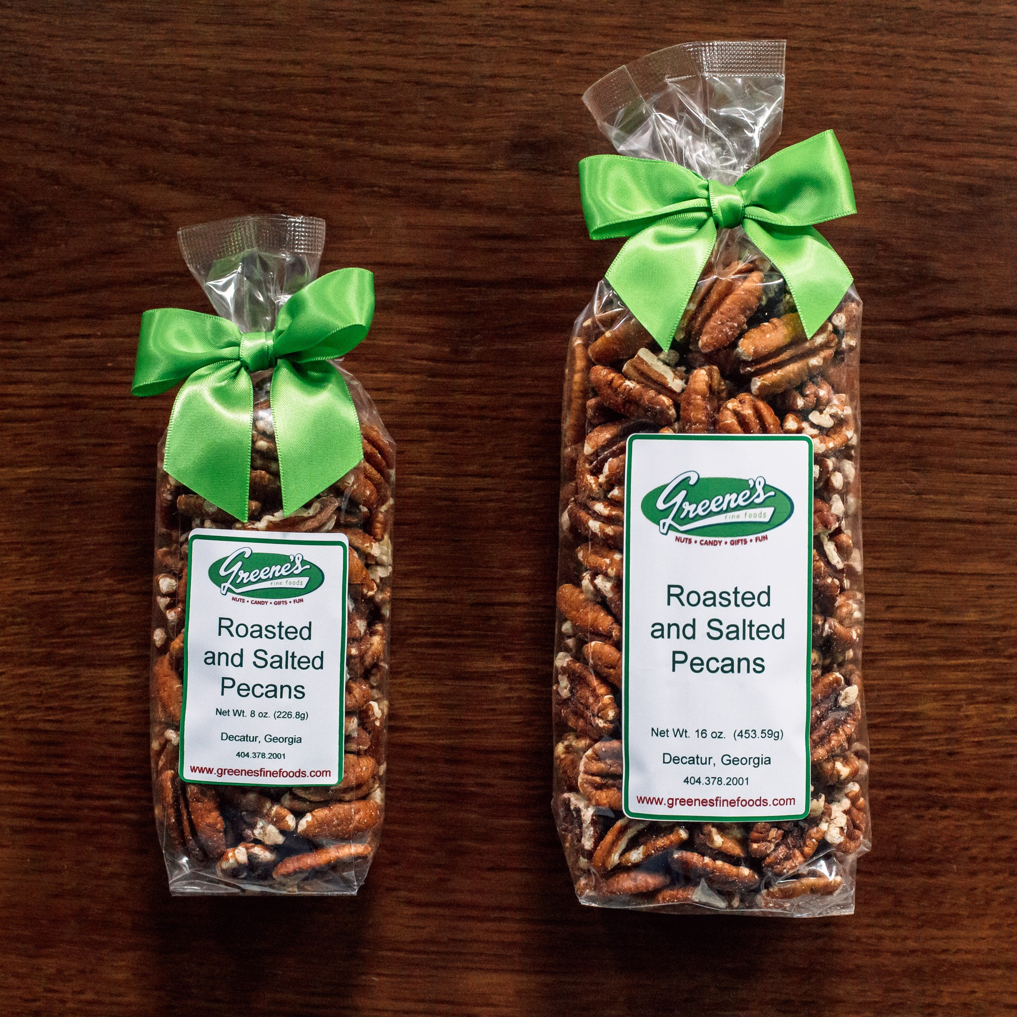 Roasted and Salted Mammoth Pecans
