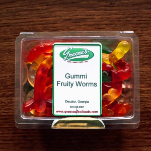 Fruity Gummi Worms